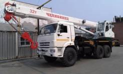 """Челябинец. Продам автомобильный кран """""""" - 32 тонны в Иркутске, 32 000кг., 25,00м. Под заказ"""