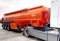 Bonum. Полуприцеп-цистерна бензовоз Бонум ( 914210) 28m3