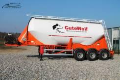Gutewolf. Цементовоз алюминиевый , 34,00куб. м.