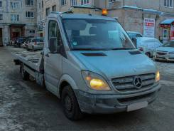 Mercedes-Benz Sprinter 318 CDI. Эвакуатор Mercedes-Benz 318 CDI Sprinter 2007 года, 2 987 куб. см., 3 500 кг.