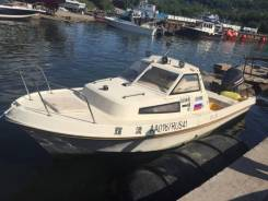 Yamaha Fish 22. Год: 1989 год, длина 7,00м., двигатель подвесной, 140,00л.с., бензин
