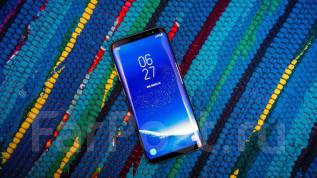 Samsung Galaxy S8. Новый, 64 Гб, Черный, 3G, 4G LTE, Dual-SIM, Защищенный