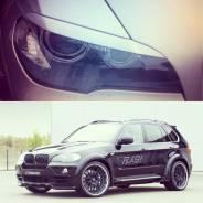 Накладка на фару. BMW X6, E71 BMW X5, E53, E70 Двигатели: M57D30T, M57D30TU2, N55B30, N57D30OL, N57D30TOP, N57S, N63B44, S63B44, M57D30TU, S63B44O0