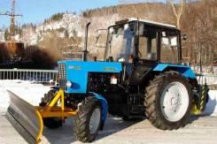 Чистка уборка снега Трактором