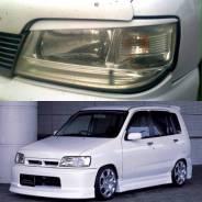 Накладка на фару. Nissan Cube, ANZ10, AZ10, Z10 Двигатели: CG13DE, CGA3DE