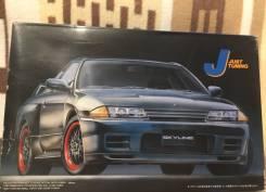 Редкая сборная модель Nissan Skyline GT-R R32. +Подарок