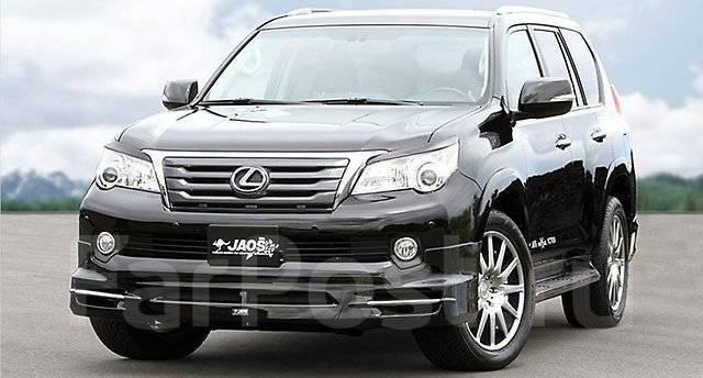 Обвес кузова аэродинамический. Lexus GX460, URJ150 Двигатель 1URFE