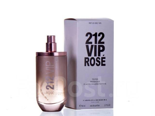 тестер Carolina Herrera 212 Vip Rose Eau De Parfum 80ml