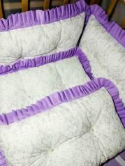 В наличии бортики в кроватку на все стороны