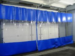 Шторы из ПВХ ткани для автомоек. Под заказ