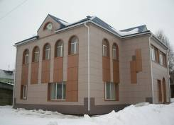 Монтаж Ханьи, сайдинг, японский фасад, алюкобонд, Клинкерная плитка