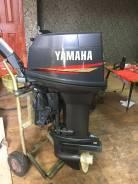 Yamaha. 50,00л.с., 2-тактный, бензиновый, нога L (508 мм), 2000 год год