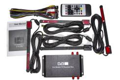 Цифровой DVB-T2 тюнер 4 Антенны до 160 км/ч DT9-1 АвтоТок