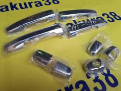 Накладка на ручки дверей. Toyota: Corolla Axio, Corolla Fielder, Corolla Runx, Allion, Kluger V Двигатели: 1NZFE, 1ZZFE, 2ZZGE, 1AZFSE, 1MZFE, 2AZFE...