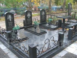 Благоустройство мест захоронения(памятники)