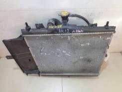 Радиатор охлаждения двигателя NISSAN AK12 Контрактная ( ,,)