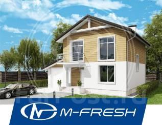 M-fresh Alexander-зеркальный (Проект дома с гаражом. Бойлерная есть! ). 200-300 кв. м., 2 этажа, 5 комнат, бетон