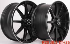 Mercedes. 8.5/9.5x20, 5x112.00, ET35/35, ЦО 66,6мм.