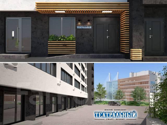1-комнатная, улица Фастовская 29. Чуркин, застройщик, 31 кв.м.