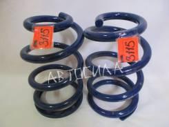 Пружина подвески задняя C4T26052H усиленная, цена за штуку, продажа парой, OBK Япония (3115) синия