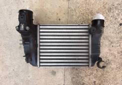 Радиатор интеркулера. Audi A4, 8E2, 8E5 Audi S4, 8E2, 8E5 Двигатели: AKE, ALT, ALZ, AMB, AMM, ASN, AVB, AVF, AVJ, AVK, AWA, AWX, AYM, BAU, BBJ, BBK, B...