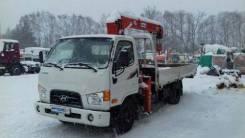 Hyundai HD78. КМУ Kanglim KS733 на шасси Hyundai HD-78, б/у (2013 г. в., 37 000 км.,, 1 000куб. см., 1 000кг., 4x2