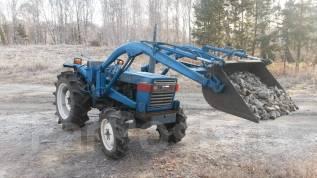 Iseki TL. Японский мини-трактор -2301, 2002г, 4wd, КУН, почвофреза, ПСМ