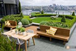 Озеленение балконов, террас, крыш и отдельных объектов