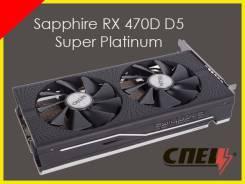 Видеокарта Sapphire RX 470D D5 Super Platinum 4G. Гарантия. Рассрочка. Под заказ