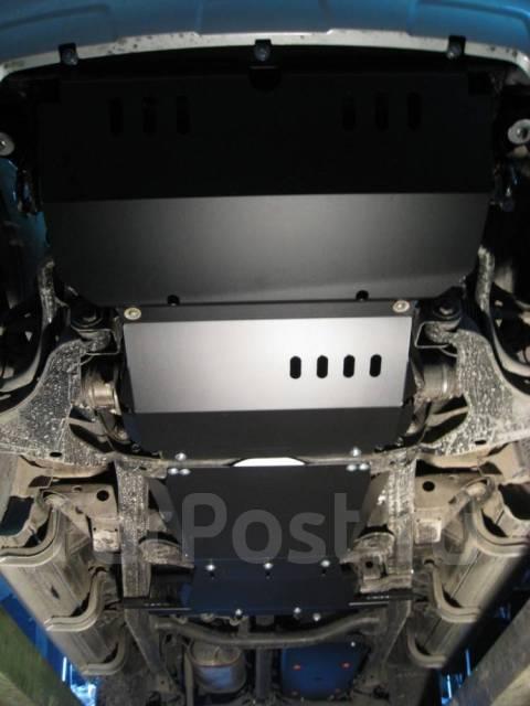 Защита картера двигателя железная