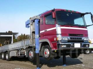 Mitsubishi Fuso Super Great. Манипулятор MMC Fuso Super Great, 21 200 куб. см., 15 000 кг. Под заказ