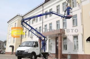 ГАЗ 3302. Автогидроподъемник автовышка агп газ 3302 14 м, 2 800куб. см., 14,00м.