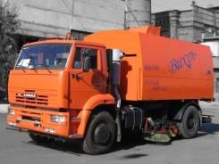 Кургандормаш КО-318Д. КО-318Д на шасси Камаз-53605 вакуумная подметально-уборочная (пылесос), 4 750куб. см.