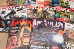 Приму в дар игровые журналы, журналы о видеоиграх.