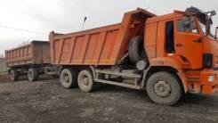 КамАЗ 65201-63. Продам отличного Камаз-6520 с прицепом!, 14 859 куб. см., 20 000 кг.