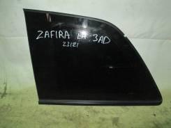 Стекло боковое. Opel Zafira, A05 Двигатели: Z16XE1, Z16XEP, Z18XER, Z20LER, Z22YH
