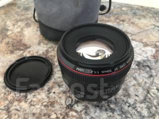 Canon EF 50mm f/1.2L USM. Для Canon, диаметр фильтра 77 мм