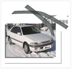 Дефлекторы и ветровики. Toyota Carina, AT210, AT211, AT212, CT210, CT211, CT215, CT216, ST215 Двигатели: 2CT, 3CTE, 3SFE, 4AGE, 5AFE, 7AFE. Под заказ