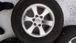 Продам колёса Toyota Prado 265/65R17. 7.5x17 6x139.70 ET30