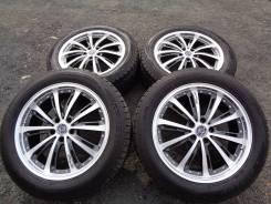 """Шикарные диски Enkei Japan! в зиме Dunlop для Lexus RX и подобные. 8.0x19"""" 5x114.30 ET38 ЦО 73,0мм."""