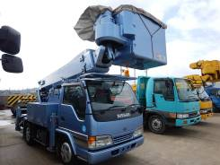 Nissan Atlas. ( Isuzu Elf ) автовышка 15м, 4 300 куб. см., 15 м.