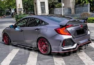 Обвес кузова аэродинамический. Honda Civic. Под заказ