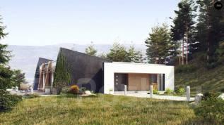 Функциональный одноэтажный дом исключительного современного дизайна!. 100-200 кв. м., 1 этаж, бетон