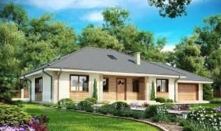 Просторный одноэтажный дом с тремя спальнями и большим гаражом!. 100-200 кв. м., 1 этаж, 4 комнаты