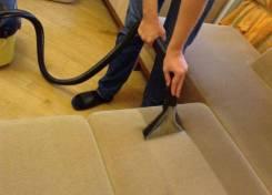 Мы проводим химчистку как в квартирах, так и в офисах .