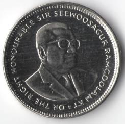 20 центов 2010г. Маврикий