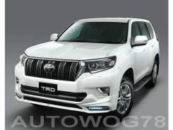 Обвес кузова аэродинамический. Toyota Land Cruiser Prado, GDJ150L, GDJ150W, GDJ151W, GRJ150L, TRJ12, TRJ150W Двигатели: 1GDFTV, 1GRFE, 2TRFE. Под зака...