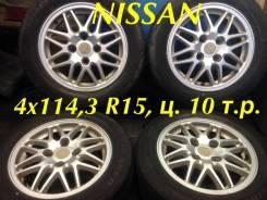 """Nissan. 6.0x15"""", 4x114.30, ET40"""