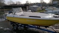 Finnmaster. 2005 год год, длина 5,50м., двигатель подвесной, 90,00л.с., бензин
