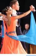 Платье для бально-спортивных танцев. 40